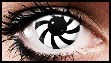 Swirl Crazy Coloured Contact Lenses (90 Day Lenses)
