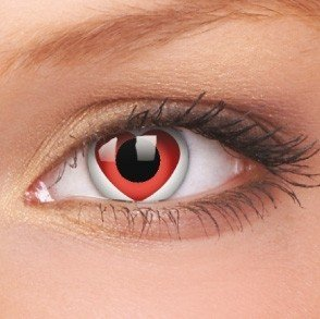 Valentine Crazy Colour Contact Lenses (1 Year Wear)