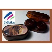 Lion Endangered Species Contact Lens Soaking Case