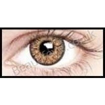 3 Tone Golden Brown Blends Coloured Contact Lenses  (1 Month Len