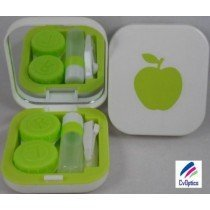 Green Design Contact Lens Travel Kit With Mirror