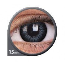 Evening Grey Big Eye Coloured Contact Lenses (90 Day)