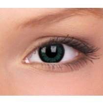 Party Green Big Eye Coloured Contact Lenses