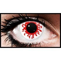 Blood Splat Halloween Coloured Contact Lenses   (90 Day Lenses)