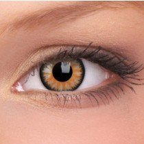 Honey Glamour Coloured Contact Lenses (90 Day)