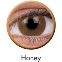 Honey Basic Coloured Contact Lenses (90 Day)