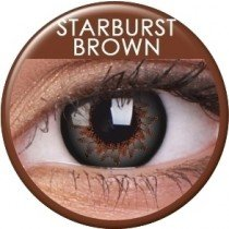 Starburst Brown Coloured Contact Lenses (90 Day)