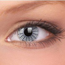 Spider Crazy Colour Contact Lenses (1 Year Wear)