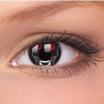Skull Crazy Colour Contact Lenses (1 Year Wear)