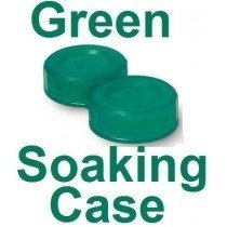 Dark Green Contact Lens Soaking/Storage case