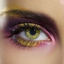 EDIT Glimmer Gold Contact Lenses