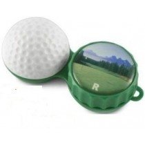Golfball 3D Contact Lens Soaking Case