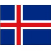 Iceland National Flag