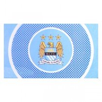 Manchester City Bullseye Flag