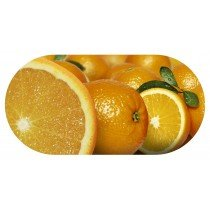 Funky Orange Contact Lens soaking Case With Mirror