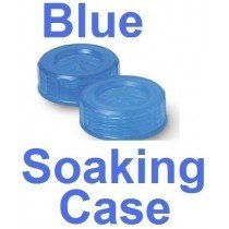 Neon Blue Contact Lens Soaking/Storage case