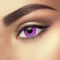 Violet Coloured Contact Lenses (1 Month Lenses)