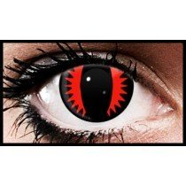 Red Viper Crazy Coloured Contact Lenses (90 Days)