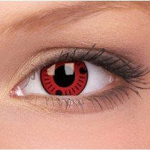 Sasuke Sharingan Crazy Colour Contact Lenses (1 Year Wear)