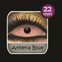 Pink Caliban Sclera Full Eye Contact Lenses 22mm (6 Month)