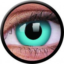 1 Day Use Sky Blue Crazy Colour Contact Lenses