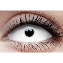 Snow Witch White Sclera Full Eye Contact Lenses 22mm (6 Month)
