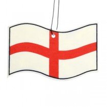 St. George Cross Flag 2PK Crest Air Freshener
