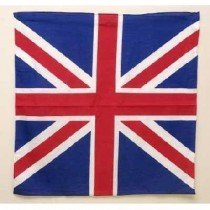 Red White And Blue Union Jack Bandana Head Scarf