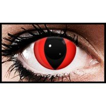 Red Cat Crazy Coloured Contact Lenses (90 Days)