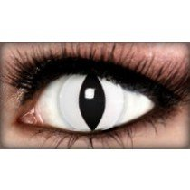 White Cat Crazy Coloured Contact Lenses (90 Days)