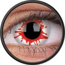 1 Day Use Wild Blood Crazy Colour Contact Lenses