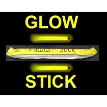 "YELLOW 6"" GLOWSTICK for Clubbing Rave Party Glow Sticks"