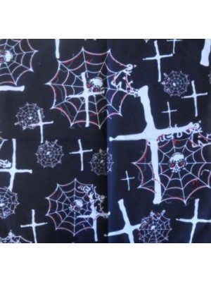 Skull Pattern Design 10 Bandana Head Scarf