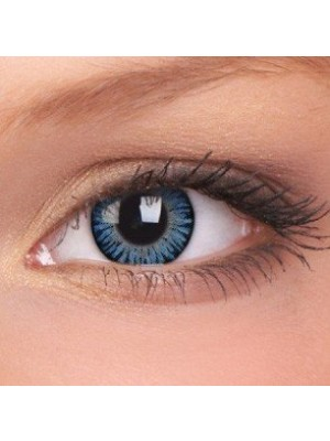 ColourVUE 3 Tones Blue Blends Coloured Contact Lenses (90 Day)