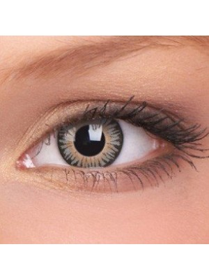 ColourVUE Grey 3 Tones Coloured Contact Lenses (90 Day)
