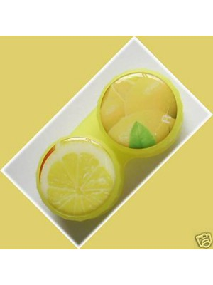 Lemon Summer Fruits Contact Lens Holder For Lenses
