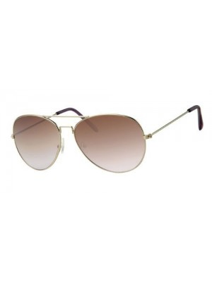 womens Aviator Style Sunglasses Shades UV400 Protection Brown To Purple Fade a30101
