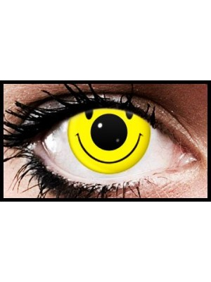 Acid Face Crazy Coloured Contact Lenses (90 Day Lenses)