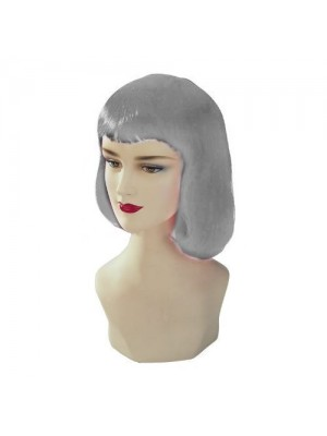 Silver Stargazer Adjustable Pulp Style Fashion Wig