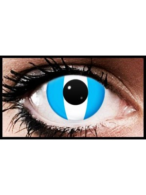 Argentina Flag Colour Contact Lenses (90 Day)