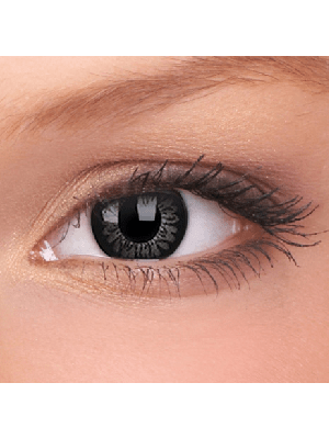 ColourVUE Awesome Black Big Eye Coloured Contact Lenses (90 Day)