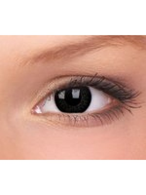 ColourVUE Dolly Black Big Eye Coloured Contact Lenses (90 Day)