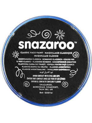 Snazaroo Black Face Paint Compact 18ml