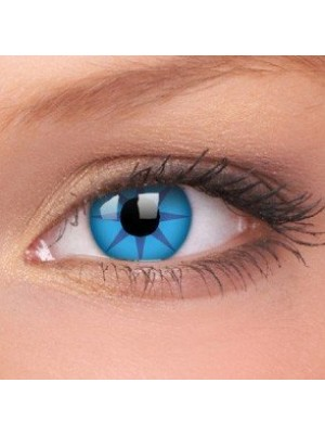 Blue Star Crazy Colour Contact Lenses (1 Year Wear)