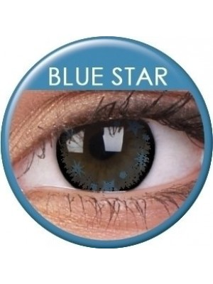 ColourVUE Blue Star Coloured Contact Lenses (90 Day)