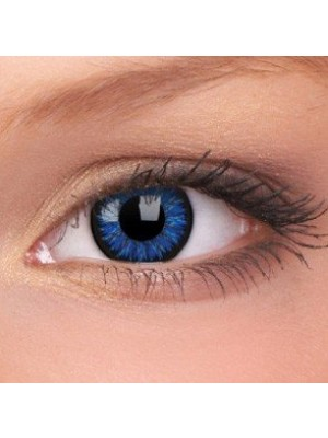 ColourVUE Blue Glamour Coloured Contact Lenses (90 Day)