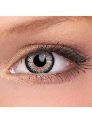 ColourVUE Grey Glamour Coloured Contact Lenses (90 Day)