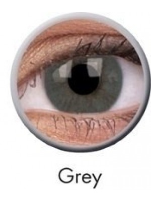ColourVUE Grey Basic Coloured Contact Lenses (90 Day)