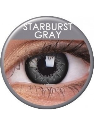 ColourVUE Starburst Grey Coloured Contact Lenses (90 Day)
