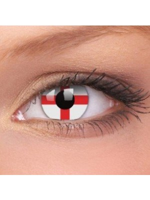 George Cross Crazy Colour Contact Lenses (1 Year Wear)